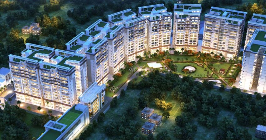 green lotus saksham - apartments in zirakpur slider